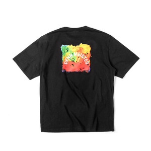 [어반스터프] USF DENN WATER COLOR TEE BLACK, 반팔티