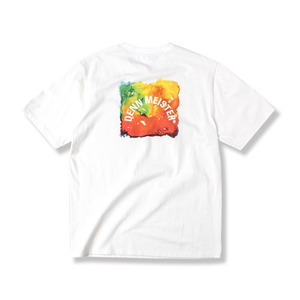 [어반스터프] USF DENN WATER COLOR TEE WHITE, 반팔티