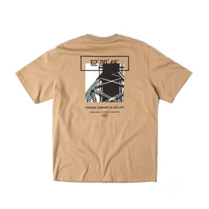 [어반스터프] USF CALL BRIDGE TEE BEIGE, 반팔티