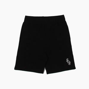 [808hats] 808 Sweat Short Black, 도끼 반바지, 808 팬츠