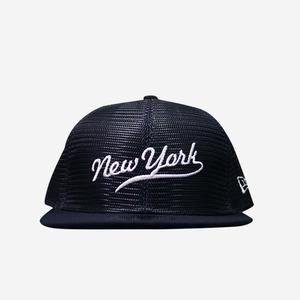 뉴에라 뉴욕 망사 스냅백 (네이비), NEWERA NEW YORK SNAPBACK