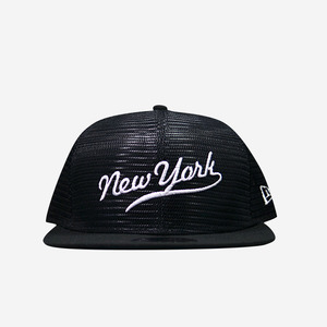 뉴에라 뉴욕 망사 스냅백 (블랙), NEWERA NEW YORK SNAPBACK