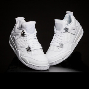 조던4 레트로 BG 퓨어머니, AIR JORDAN 4 RETRO BG 'PURE MONEY', 408452-100