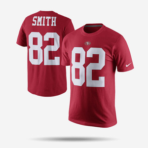 나이키 NFL 토리 스미스 반팔티, Nike Torrey Smith San Francisco T Shirt, 709859-604