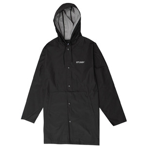 [스투시] STUSSY SUMMER LONG HOODED COACH JKT (BLACK) [115339-BLAC]
