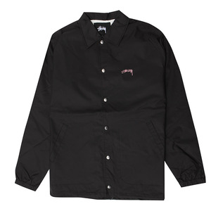 [스투시] STUSSY SUMMER COACH JACKET (BLACK) [115340-BLAC]