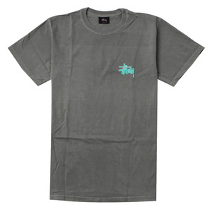 [스투시] STUSSY PUFF STOCK PIG DYED TEE (COOL GREY) [1904083-CGRY]