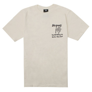 [스투시] STUSSY HOTTER THAN HELL TEE (NATURAL) [1904067-NATL]