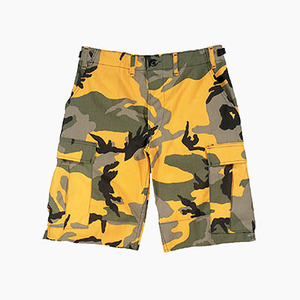 [ROTHCO] BDU Short Yellow Camo, 로스코 반바지