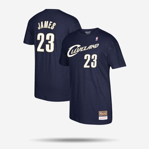 미첼엔네스 NBA 르브론 제임스 반팔티, MitchellandNess Cleveland Cavaliers Lebron James TEE