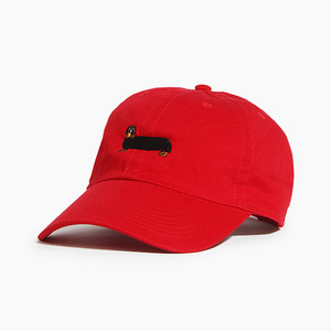[WARF] Cotton Ballcap Dachshund Red, 모자, 볼캡 - 풋셀스토어