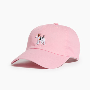 [WARF] Cotton Ballcap Fox Terrier Pink, 모자, 볼캡 - 풋셀스토어