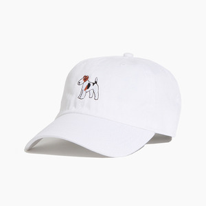 [WARF] Cotton Ballcap Fox Terrier White, 모자, 볼캡 - 풋셀스토어