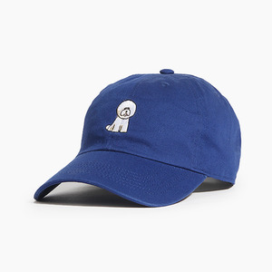 [WARF] Cotton Ballcap Bichon R.Blue, 모자, 볼캡 - 풋셀스토어
