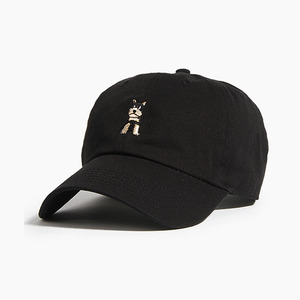 [WARF] Cotton Ballcap Schnauzer Black, 모자, 볼캡 - 풋셀스토어