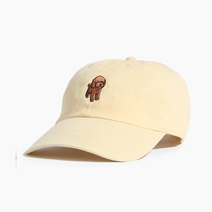 [WARF] Cotton Ballcap Poodle Yellow, 모자, 볼캡 - 풋셀스토어
