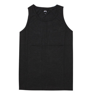 [스투시] HEATHER O`DYED TANK (BLACK HEATHER) [114982-BLAH]
