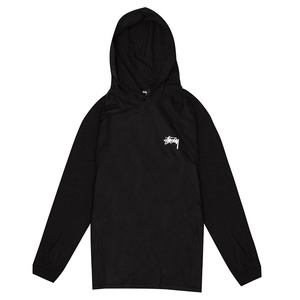 [스투시]8 BALL STIPPLE LS HOOD TEE (BLACK) [1984093-BLAC]