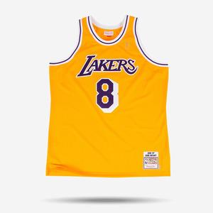 미첼엔네스 NBA 코비 브라이언트 하드우드 클래식 어센틱 져지, MitchellandNess Kobe Bryant 1996-97 Authentic Jersey Los Angeles Lakers