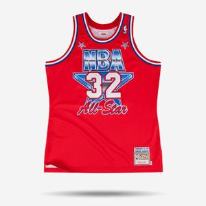 미첼엔네스 NBA 매직존슨 올스타 하드우드 클래식 어센틱 져지, MitchellandNess MAGIC JOHNSON 1991 ALL STAR HARDWOOD AUTHENTIC CLASSICS JERSEY