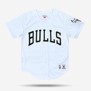 미첼엔네스 NBA 시카고불스 메쉬 져지, MitchellandNess CHICAGO BULLS MESH BUTTON