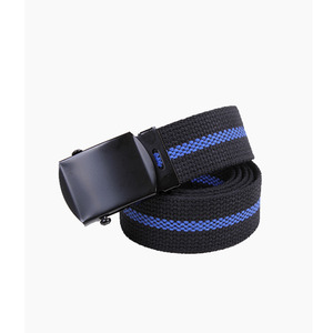 [ROTHCO] Thin Blue Line Belt Black, 로스코 벨트