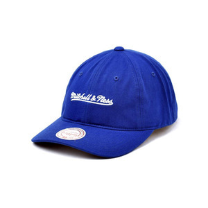 미첼엔네스 로고 처커 스트랩백, MitchellandNess LOGO CHUKKER STRAPBACK-ROYAL