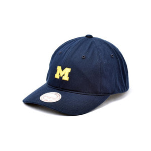 미첼엔네스 NCAA 미시간 처커 스트랩백, MitchellandNess NCAA MICHiGAN CHUKKER STRAPBACK