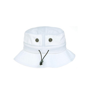 미첼엔네스 웜-업 버킷햇, MitchellandNess WARM UP BUCKET HAT-WHITE