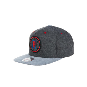미첼엔네스 LA 클리퍼스 퍼포레이티드 스냅백, MitchellandNess LA CLIPPERS CATION PERFORATED SNAPBACK