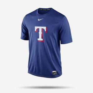 나이키 MLB 텍사스 레인저스 드라이핏 로고 반팔티, NIKE MLB TEXAS RANGERS LOGO DRI-FIT T SHIRT