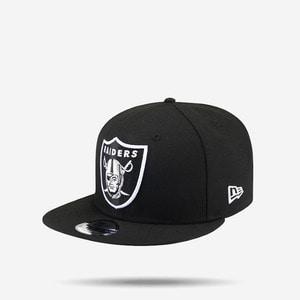 [풋셀 회원 특가] 뉴에라 NFL 오클랜드 라이더스 로고 스냅백, NEWERA NFL RAIDERS SNAPBACK