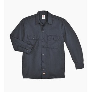 [디키즈] DICKIES 574 Work L/s Shirt Charcoal - 풋셀스토어