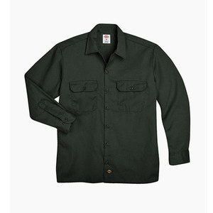[디키즈] DICKIES 574 Work L/s Shirt Olive Green - 풋셀스토어