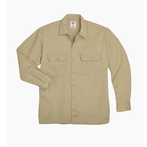 [디키즈] DICKIES 574 Work L/s Shirt Khaki - 풋셀스토어