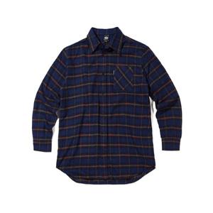 [어반스터프] USF FLANNEL CHECK SHIRTS BLUE, 체크셔츠, 남방