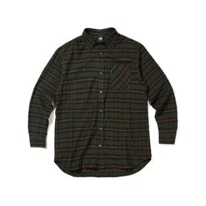 [어반스터프] USF FLANNEL CHECK SHIRTS GREEN, 체크셔츠, 남방