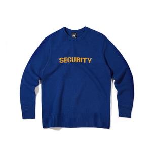 [어반스터프] USF LAMBSWOOL SECURITY KNIT BLUE, 긴팔티
