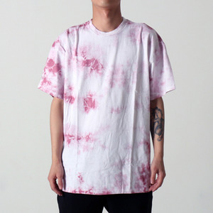 [EPTM] UNEVEN WASHED BOX TEE (DUSTY PINK)