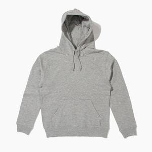 [젤란] JELLAN Pullover Hoodie Grey, 무지 후드티