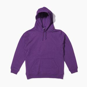 [젤란] JELLAN Pullover Hoodie Purple, 무지 후드티