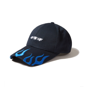 [어반스터프] USF BURNING LOGO BALL CAP NAVY, 볼캡
