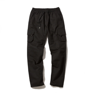 [어반스터프] USF TAPERED MULTI PANTS BLACK