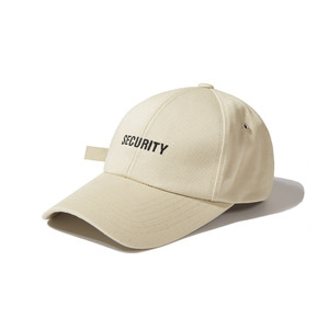 [어반스터프] USF SECURITY EYELET CAP BEIGE, 볼캡