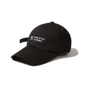 [어반스터프] USF SLOGAN  CAP BLACK, 볼캡