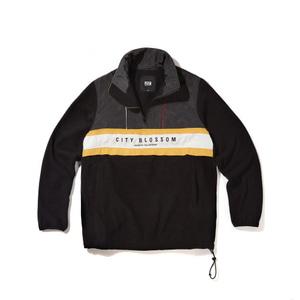 [어반스터프] USF RETRO OVER FLEECE JACKET BLACK, 자켓, 바람막이