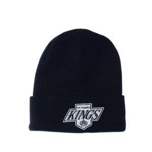미첼엔네스 NHL LA킹스 로고 커프 니트비니, MitchellandNess LA KINGS LOGO CUFF KNIT BEANIE