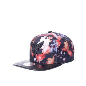 미첼엔네스 NBA 샬럿호네츠 엔티크 플로랄 스냅백, MitchellandNess CHARLOTTE HORNETS ANTIQUE FLORAL SNAPBACK, NBA