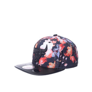 미첼엔네스 NBA시카고불스 엔티크 플로랄 스냅백, MitchellandNess CHICAGO BULLS ANTIQUE FLORAL SNAPBACK, NBA