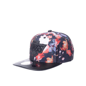 미첼엔네스 NHL LA킹스 엔티크 플로랄 스냅백, MitchellandNess LA KINGS ANTIQUE FLORAL SNAPBACK, NHL